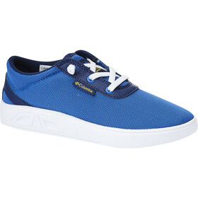 Columbia Spinner Zapatillas Niños, stormy blue/deep yellow